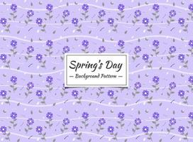 Spring Seamless pattern background