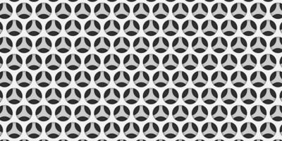 Abstract Modern Black and White Geometric  Background vector