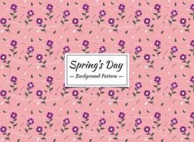 Vårens sömlösa mönster