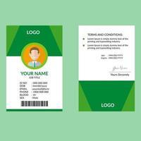 ID-Kartenvorlage
