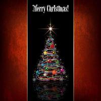 Saudação de árvore de Natal