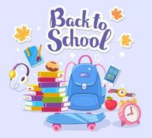 back to school social media post