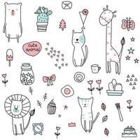 cute baby seamless pattern