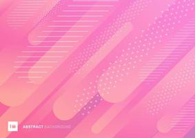 Abstract pink color pattern liquid gradient lines vector