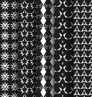 Nahtloses Muster mit den Sternen eingestellt