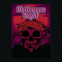 Halloween Party Invitation Flyer