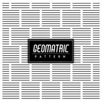 Black and White Geomatric Seamless Pattern Background vector