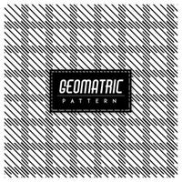 Black and White Geometric Seamless Pattern Background vector