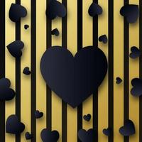 Élégant fond de valentine