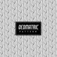 Noir et blanc sans soudure fond géométrique