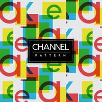 Bright Channels Colorful Shapes Seamless Pattern Background