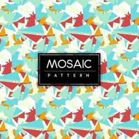 Sfondo colorato motivo a mosaico