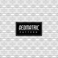 Black and White Geometric Seamless Pattern Background