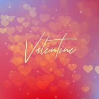 Valentine Gradient Background vector