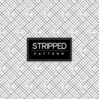 Black and White Stripped Seamless Pattern Background vector