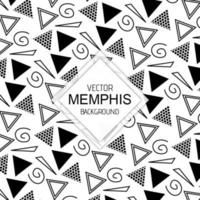 Black and White Memphis Backgrounds