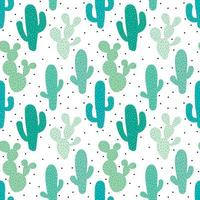 Cute Green Seamless Pattern