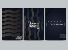 Modern club foam party poster