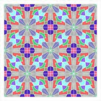 Tiles Geometric Seamless Pattern