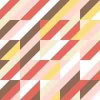 Padrão de faixa colorida vetor
