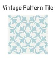 Art Nouveau Tile Pattern  vector