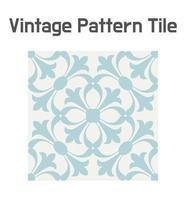 Patrón de mosaico Art Nouveau