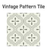 Patrón de mosaico geométrico de elegancia