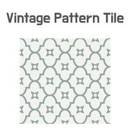 Simple geometric tile pattern. vector