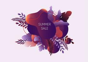 Summer sale web banner