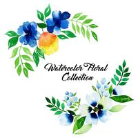 Aquarelle Collection Florale