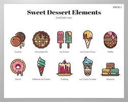 Confezione dessert LineColor