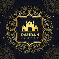 Abstract Ramadan Islamic Background