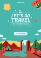 Vayamos cartel de viaje