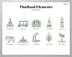 Thailand elements pack
