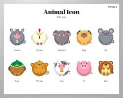 Pack de iconos de animales