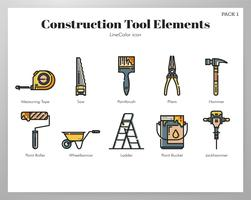 Construction tool set vector
