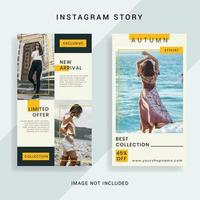 Social Media Instagram-verhaalsjabloon