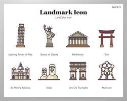 Ícones de referência LineColor pack