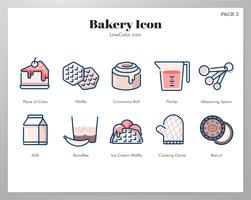 Bakery icon LineColor pack