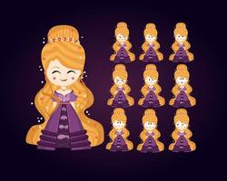 Princess Character Set