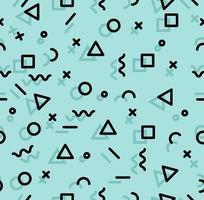 Sameless Muster der geometrischen Memphis-Art