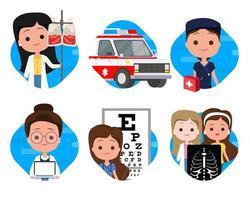 Medizinische Icons Sets