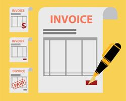 Set of Invoices