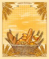 Pasteleria. Pan fresco