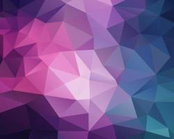 Fondo rosa polígono