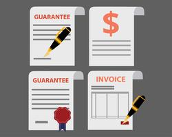 Invoice Icons Set