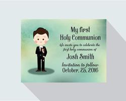 Meu primeiro cartão de comunhão