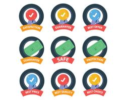 Set of Safety Icons