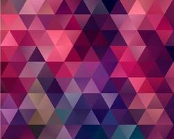 Roze en paarse driehoek achtergrond