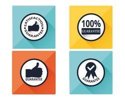 Set of Guarantee Icons